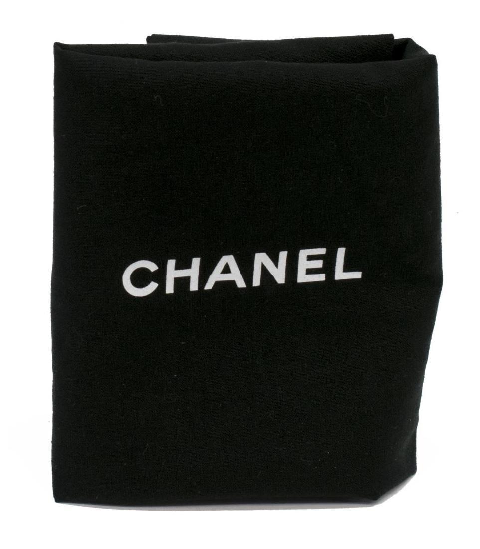 CHANEL TWEED, SEQUIN & LEATHER SHOULDER BAG - 7