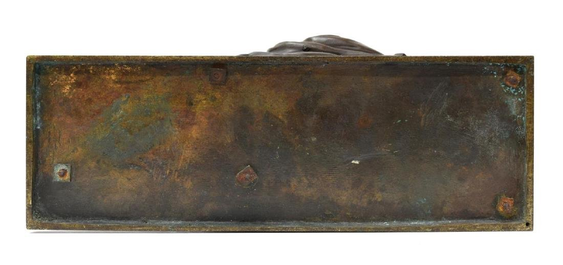AFT. J.C. DE BLEZER(fl. 1868-1881)BRONZE SCULPTURE - 7
