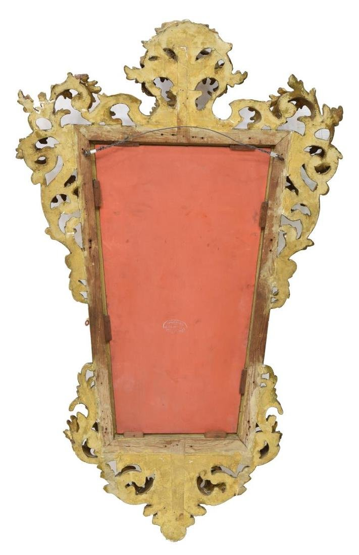 ANTIQUE FRENCH GILT FRAMED MIRROR - 3