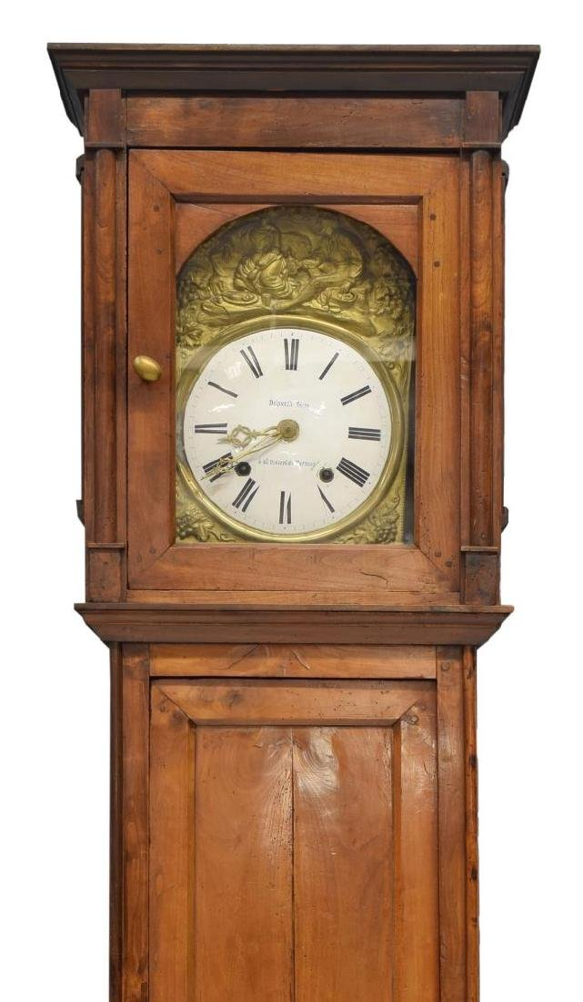 FRENCH MORBIER CASE CLOCK BY DELPUECH FRERES