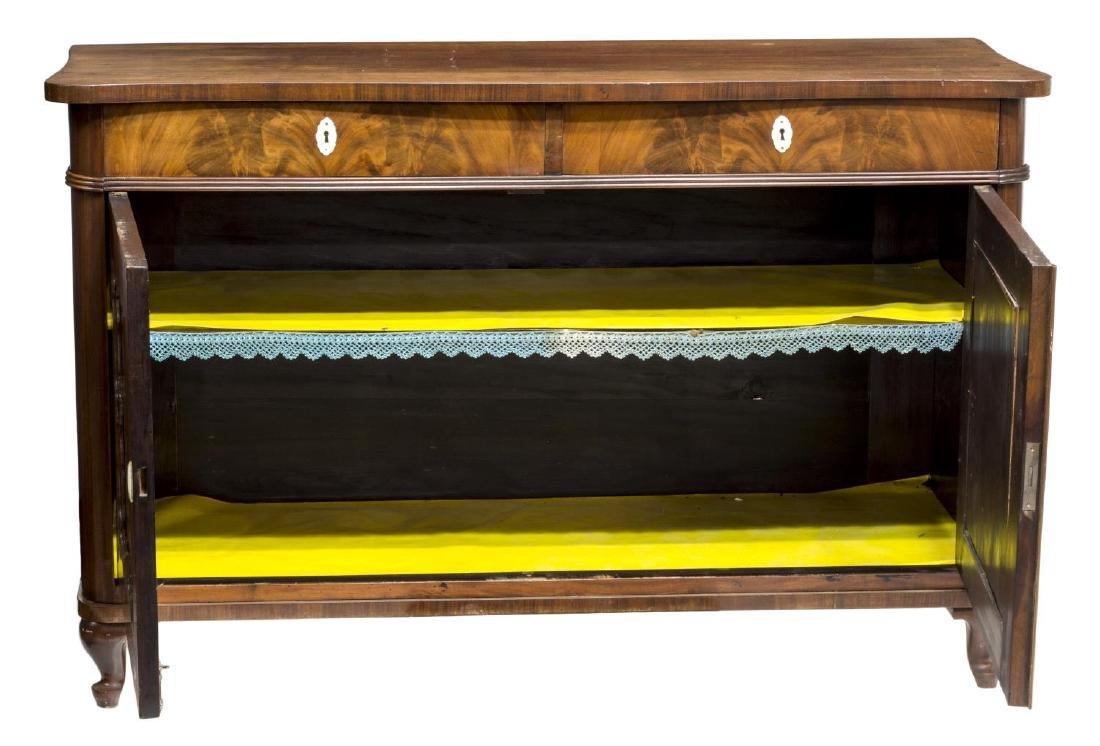 DANISH LOUIS XV STYLE MAHOGANY SIDEBOARD, 19TH C - 3