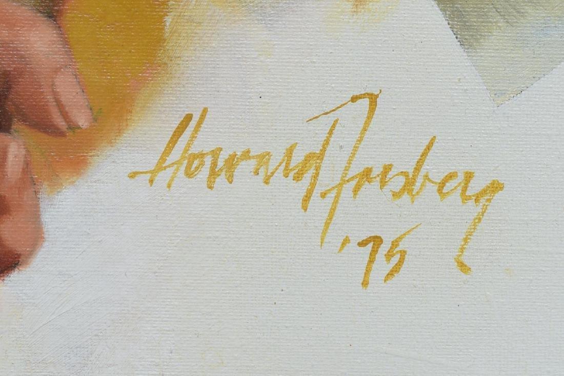HOWARD FORSBERG(1918-2002)CHEYENNE INDIAN PAINTING - 4