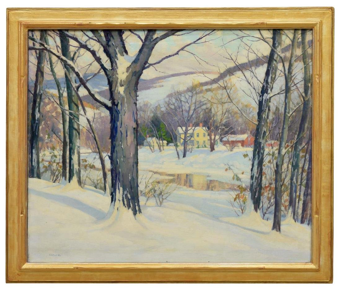CLIFFORD ULP (NEW YORK, 1885-1957) WINTER PAINTING