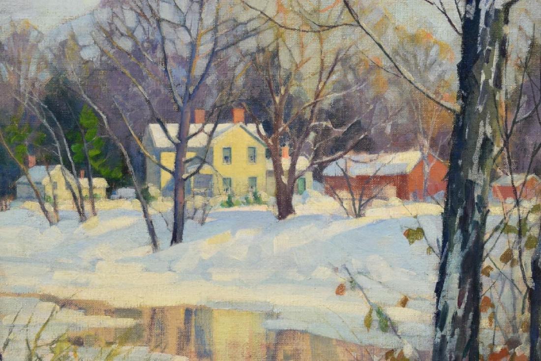 CLIFFORD ULP (NEW YORK, 1885-1957) WINTER PAINTING - 2