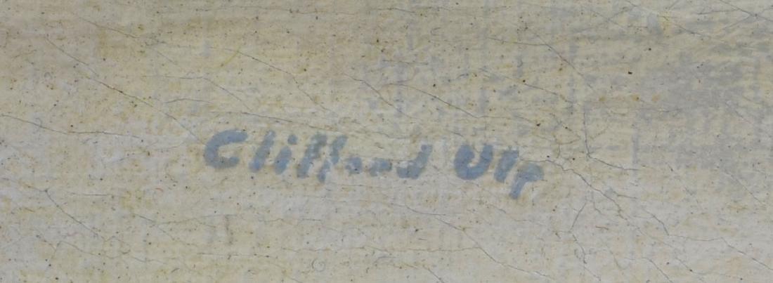 CLIFFORD ULP (NEW YORK, 1885-1957) WINTER PAINTING - 3
