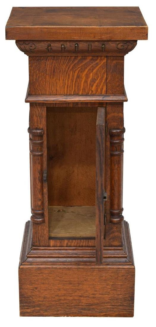 AMERICAN OAK PLANT OR DISPLAY STAND - 3