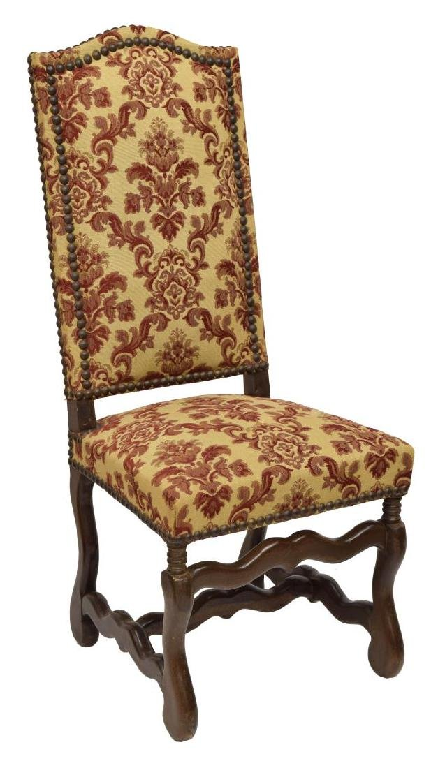 (8) FRENCH LOUIS XIII STYLE DINING CHAIRS - 2