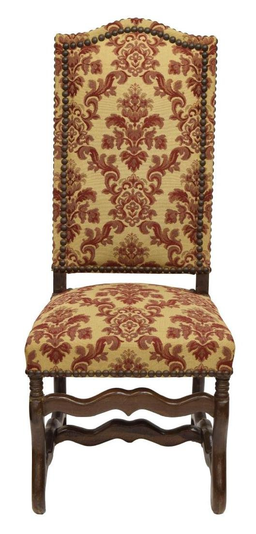 (8) FRENCH LOUIS XIII STYLE DINING CHAIRS - 3