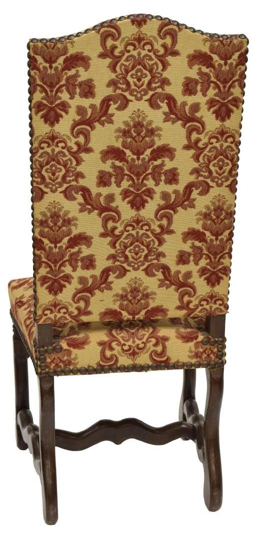 (8) FRENCH LOUIS XIII STYLE DINING CHAIRS - 4