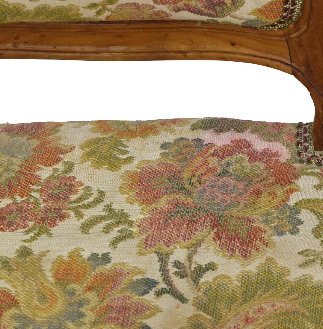 (6) FRENCH UPHOLSTERED FRUITWOOD CHAIRS - 4