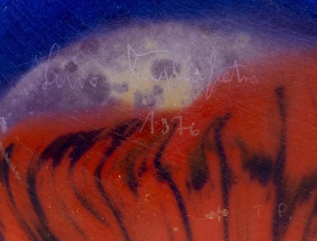 LINO TAGLIAPIETRA (B.1934) MURANO ART GLASS VASE - 4