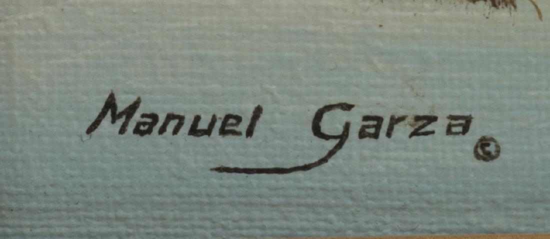 MANUEL GARZA (B. 1940) TEXAS HILL COUNTRY SNOW - 3