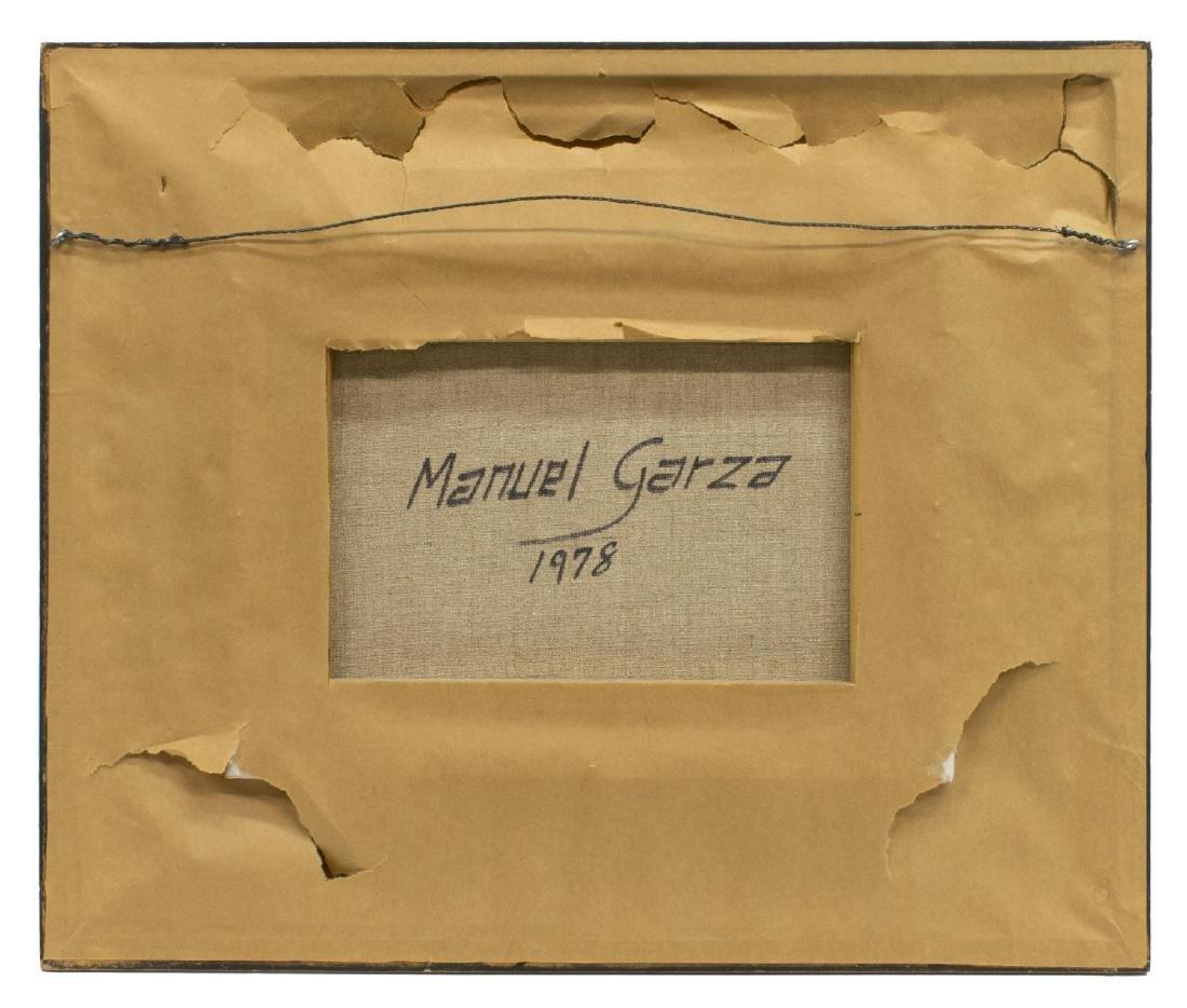 MANUEL GARZA (B. 1940) TEXAS HILL COUNTRY SNOW - 4