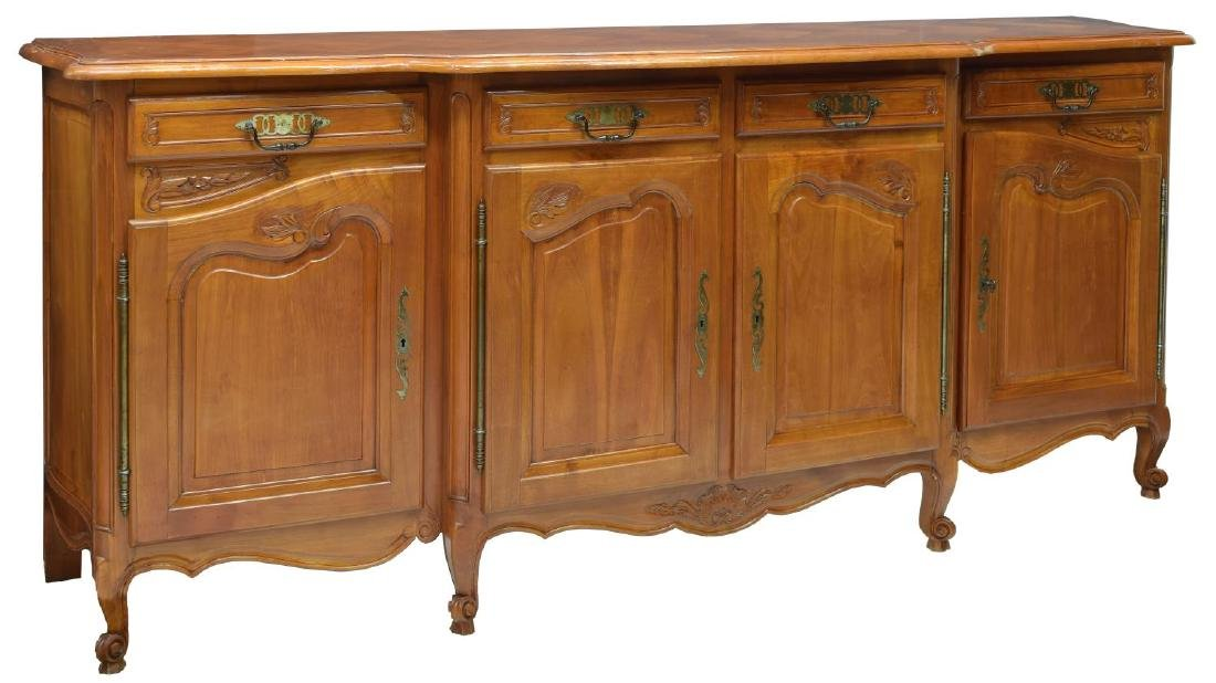 FRENCH PARQUETRY TOP SIDEBOARD