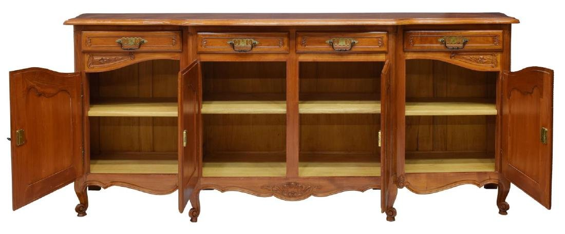 FRENCH PARQUETRY TOP SIDEBOARD - 2