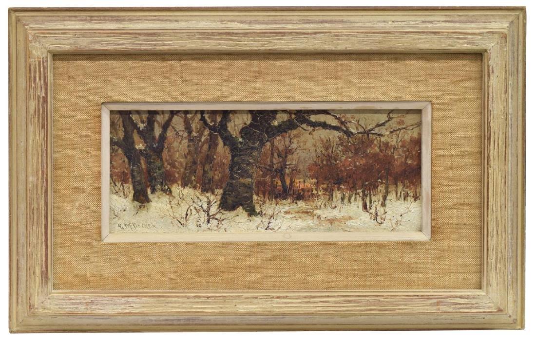 ROBERT MELVIN DECKER (1847-1921) OIL ON BOARD - 2