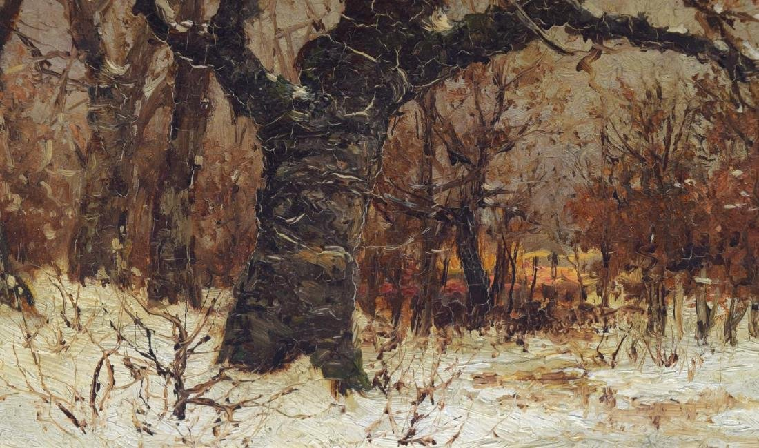 ROBERT MELVIN DECKER (1847-1921) OIL ON BOARD - 3