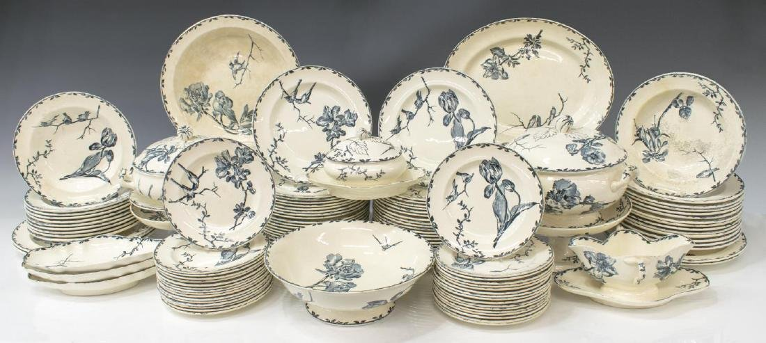(119)EXTENSIVE FRENCH PRINTEMPS DINNER SERVICE