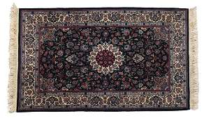 """HAND TIED PERSIAN STYLE RUG, 6'2 X 4'1"""""""