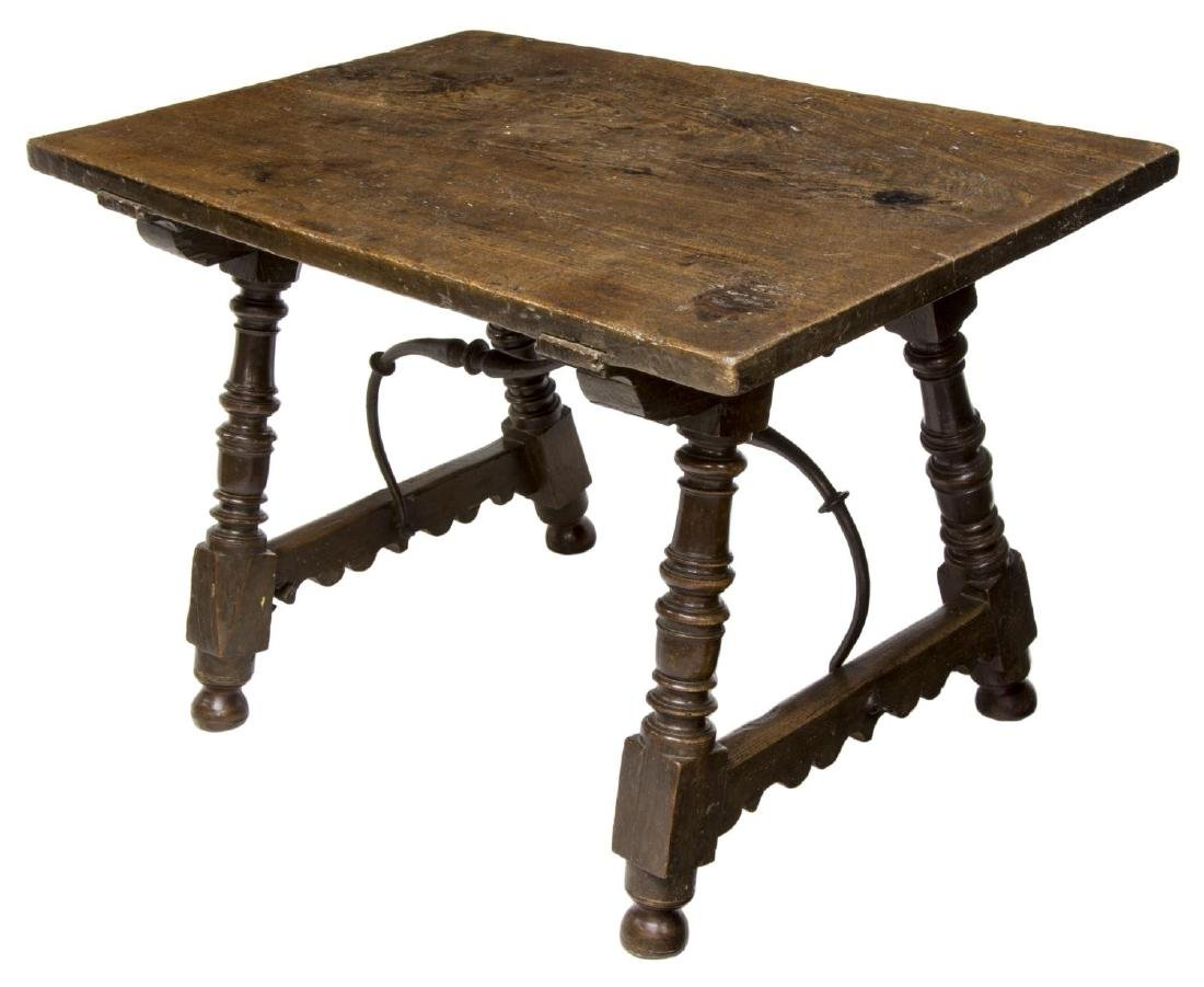 SPANISH SINGLE BOARD TOP TABLE