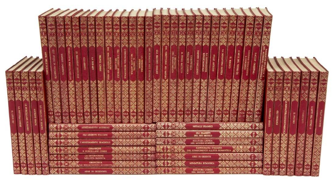 (54) ITALIAN ART BOOKS FOR LIBRARY SHELF