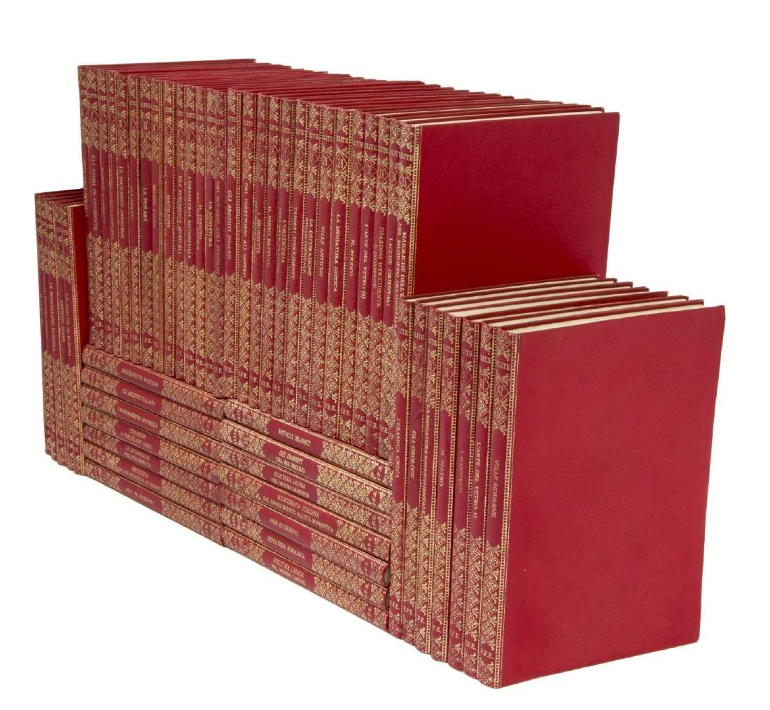 (54) ITALIAN ART BOOKS FOR LIBRARY SHELF - 2
