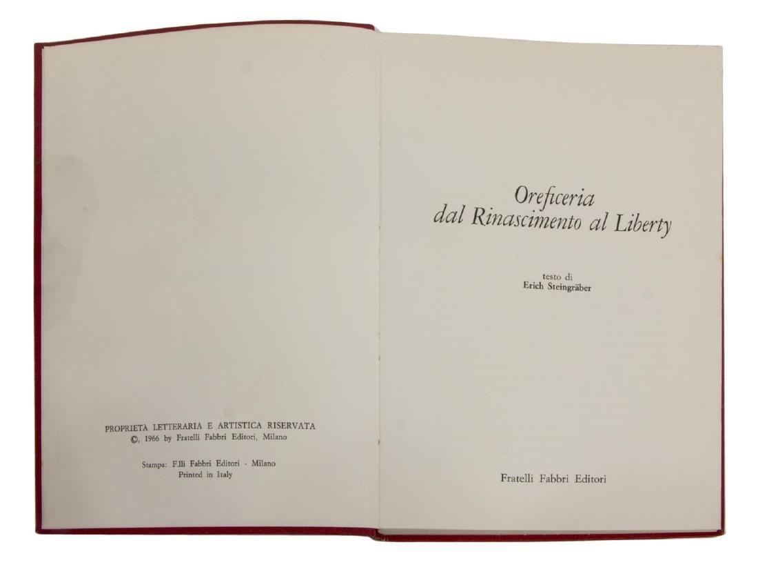 (54) ITALIAN ART BOOKS FOR LIBRARY SHELF - 3