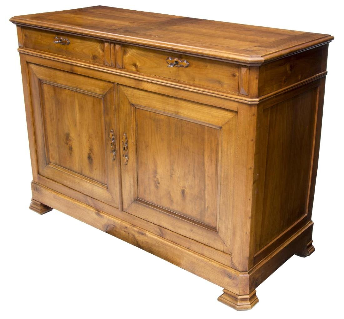 LOUIS PHILIPPE FRUITWOOD SIDEBOARD