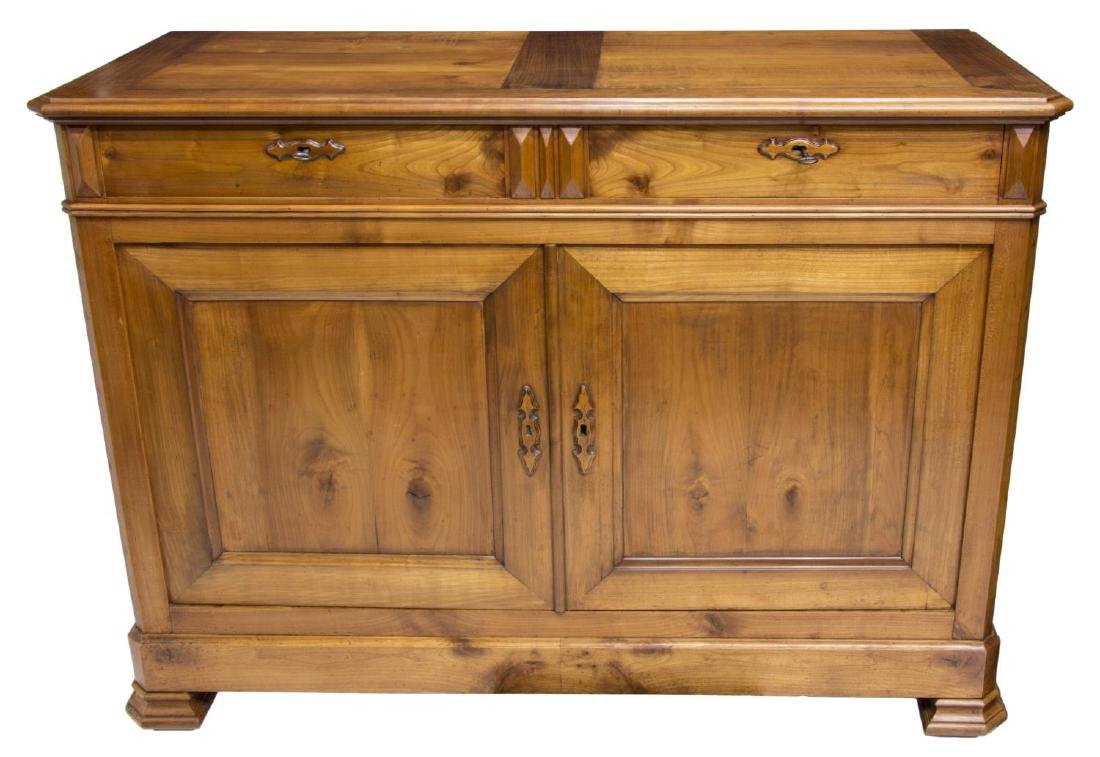 LOUIS PHILIPPE FRUITWOOD SIDEBOARD - 2