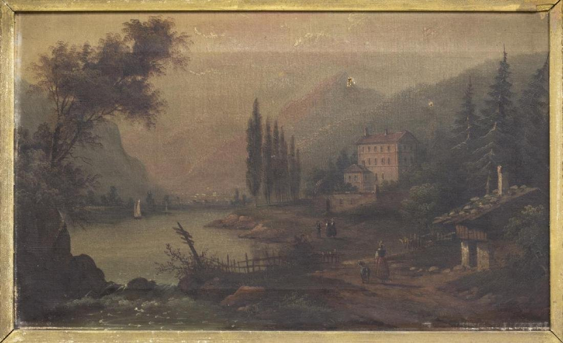 (2) FRAMED OIL ON CANVAS PAINTINGS, LANDSCAPES - 2
