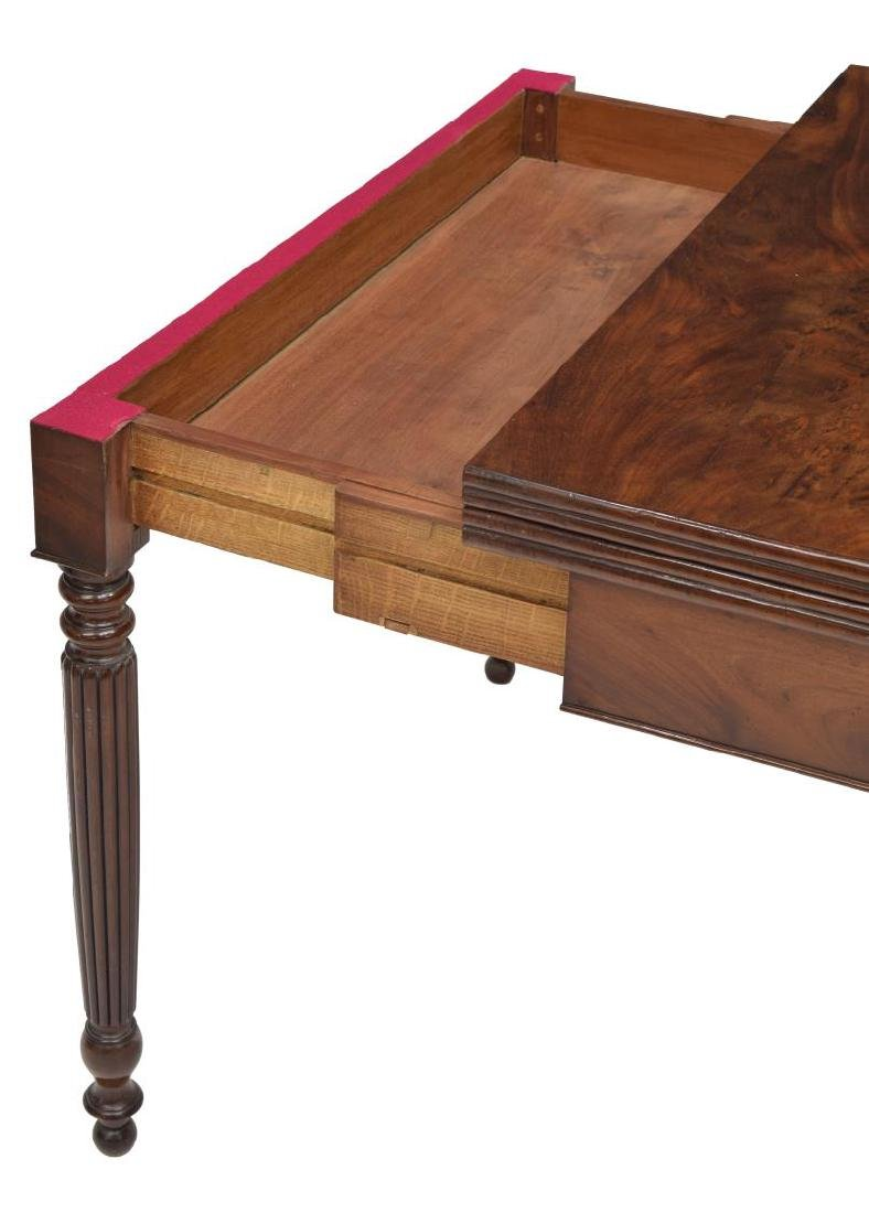 LOUIS PHILIPPE MAHOGANY GAME TABLE, C. 1850 - 4