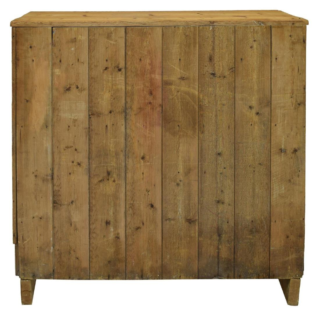 ENGLISH VICTORIAN STRIPPED PINE CHEST - 6