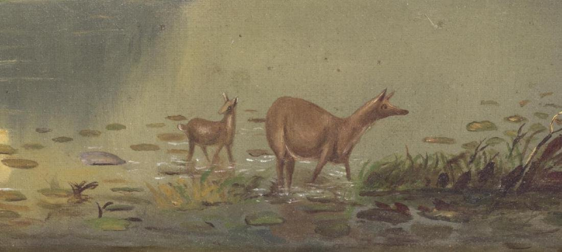 (2) OIL ON CANVAS PAINTINGS, LANDSCAPES - 3