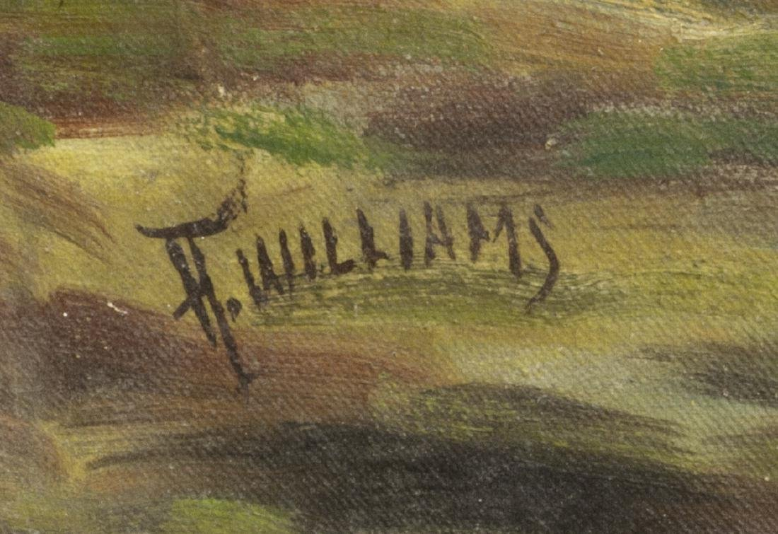 (2) OIL ON CANVAS PAINTINGS, LANDSCAPES - 6
