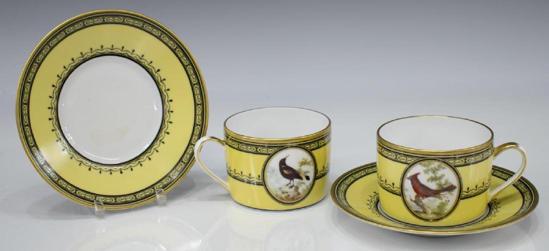(13) COLLECTION PORCELIAN CUPS & SAUCERS, LIMOGES - 4