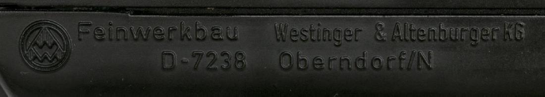 GERMAN FEINWERKBAU COMPETITION AIR PISTOL - 6