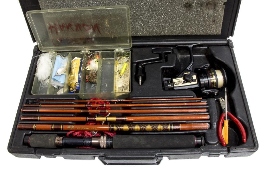 DAIWA 7052 FISHING ROD & RG 1350 SPINNING REEL - 2