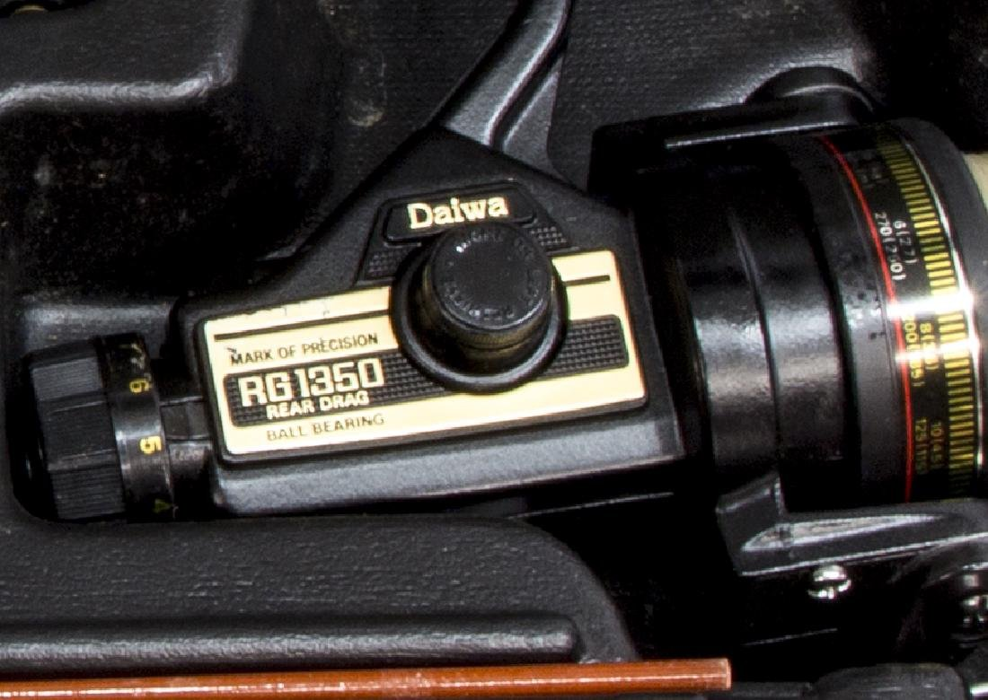DAIWA 7052 FISHING ROD & RG 1350 SPINNING REEL - 4