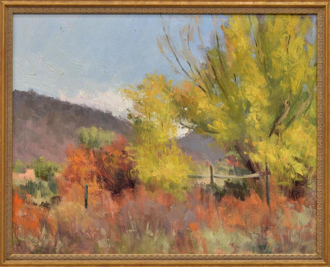 DON WARD (B. 1947) NEW MEXICO DESERT FOLIAGE