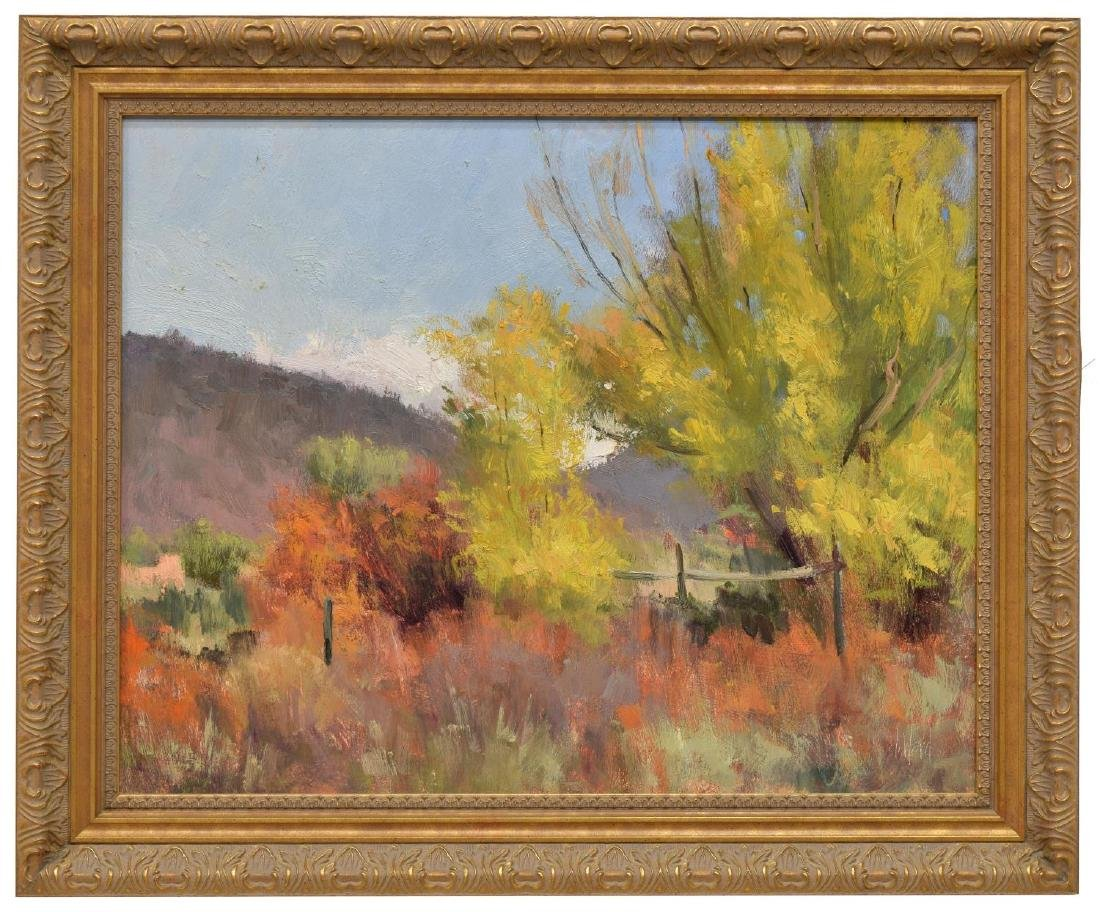 DON WARD (B. 1947) NEW MEXICO DESERT FOLIAGE - 2