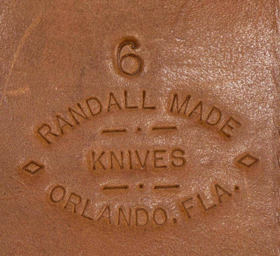 RANDALL MADE HUNTING KNIFE & SHEATH - 6