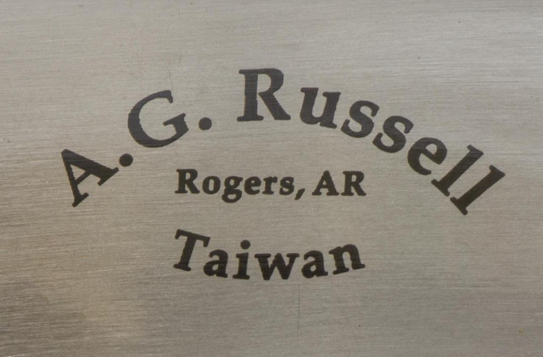 (3) HATCHETS, RALPH BONE, A.G. RUSSELL, SULLIVAN - 6