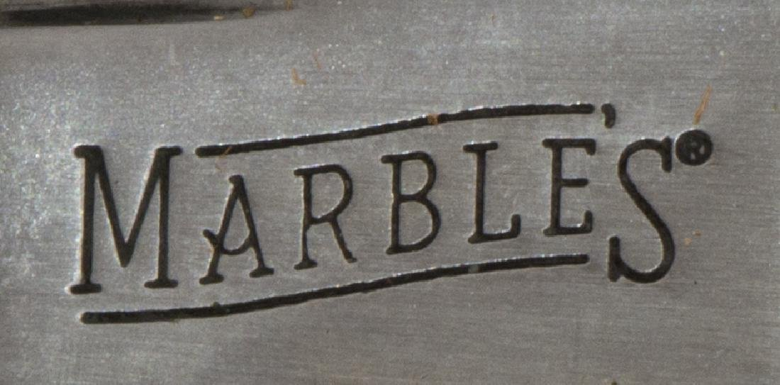 (3) FIXED BLADE KNIVES, BOKER MARBLES, LAKOTA - 5