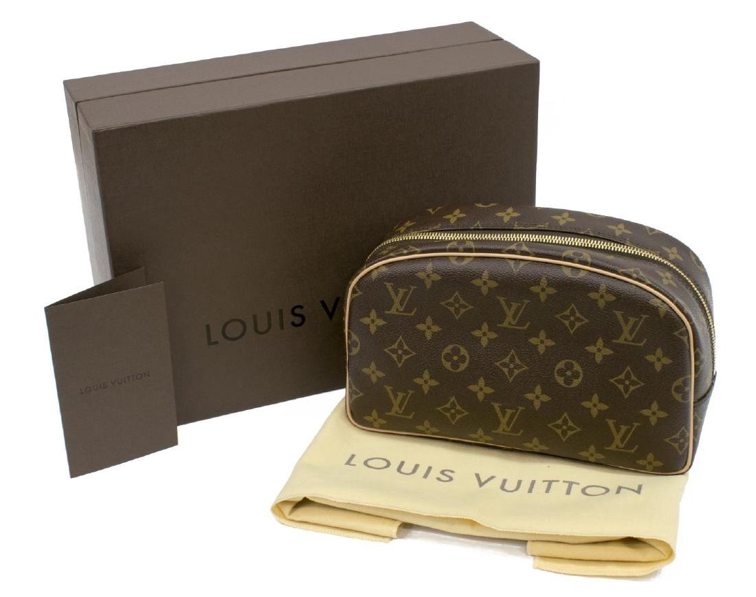 ESTATE LOUIS VUITTON TOILETRY BAG IN ORIGINAL BOX