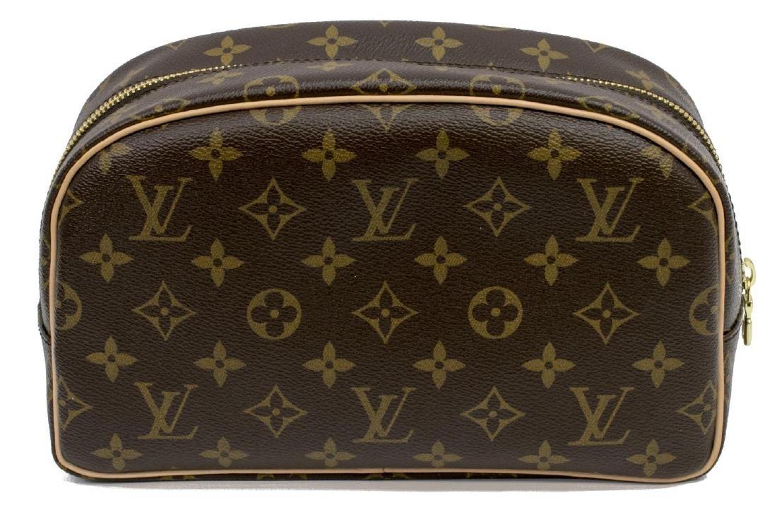 ESTATE LOUIS VUITTON TOILETRY BAG IN ORIGINAL BOX - 3