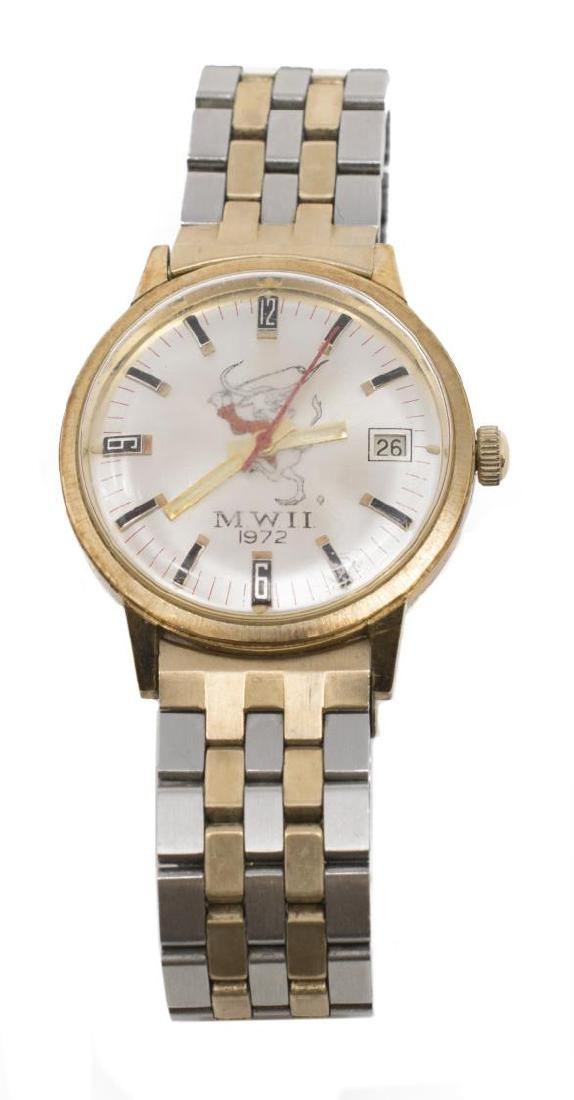 4) GEORGE HANNON UT MWII 1972 GOLF & OTHER WATCHES - 3