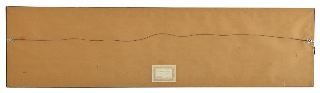 FRAMED JOHN REID (1840-1916) WOOD SHAFT GOLF CLUB - 6