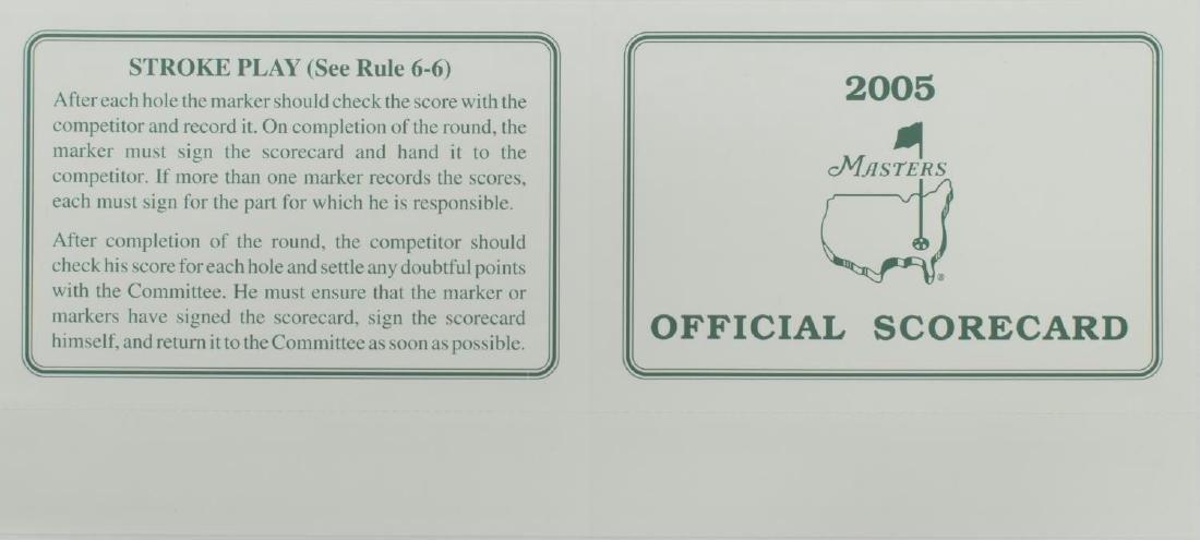 LOT OF PGA, MASTERS GOLF MEMORABILIA & EPHEMERA - 3