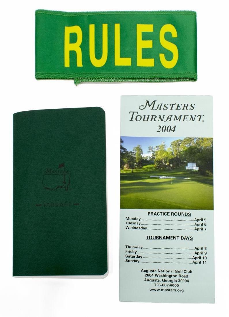 LOT OF PGA, MASTERS GOLF MEMORABILIA & EPHEMERA - 4