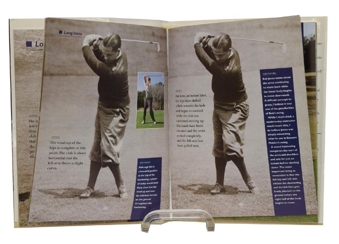 (5) SIGNED (KITE, CRENSHAW) COACH HANNON GOLF BOOK - 2